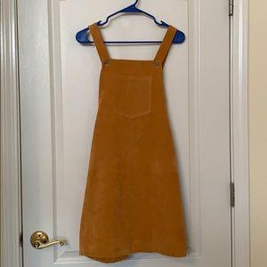 ROMWE Overall Skirt